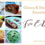 Free Gluten & Dairy Free Recipe E-Book