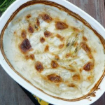 Creamed Onions or Vegetable Au Gratin (Gluten Free, Vegan)