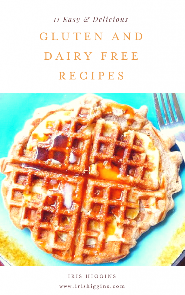 gluten and dairy free recipe e-book