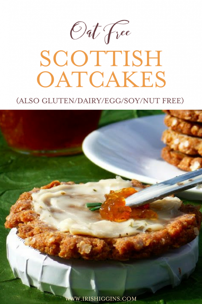 Oat Free Scottish Oatcakes