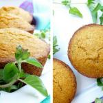 Herbed Corn Muffins (Gluten Free, Vegan, Refined Sugar Free)